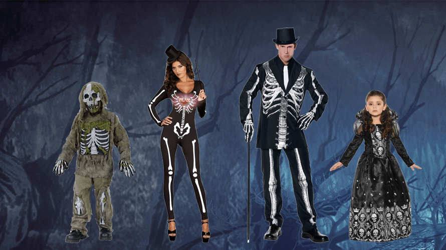 Halloween Skeleton Costumes